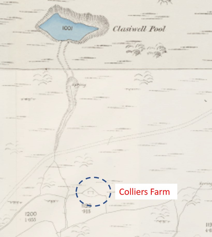 Colliers Map