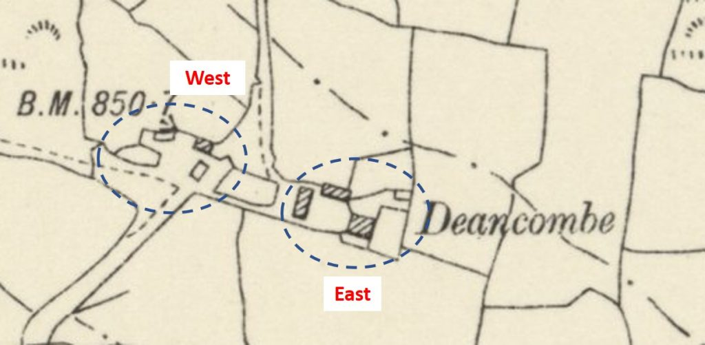 Deancombe Map