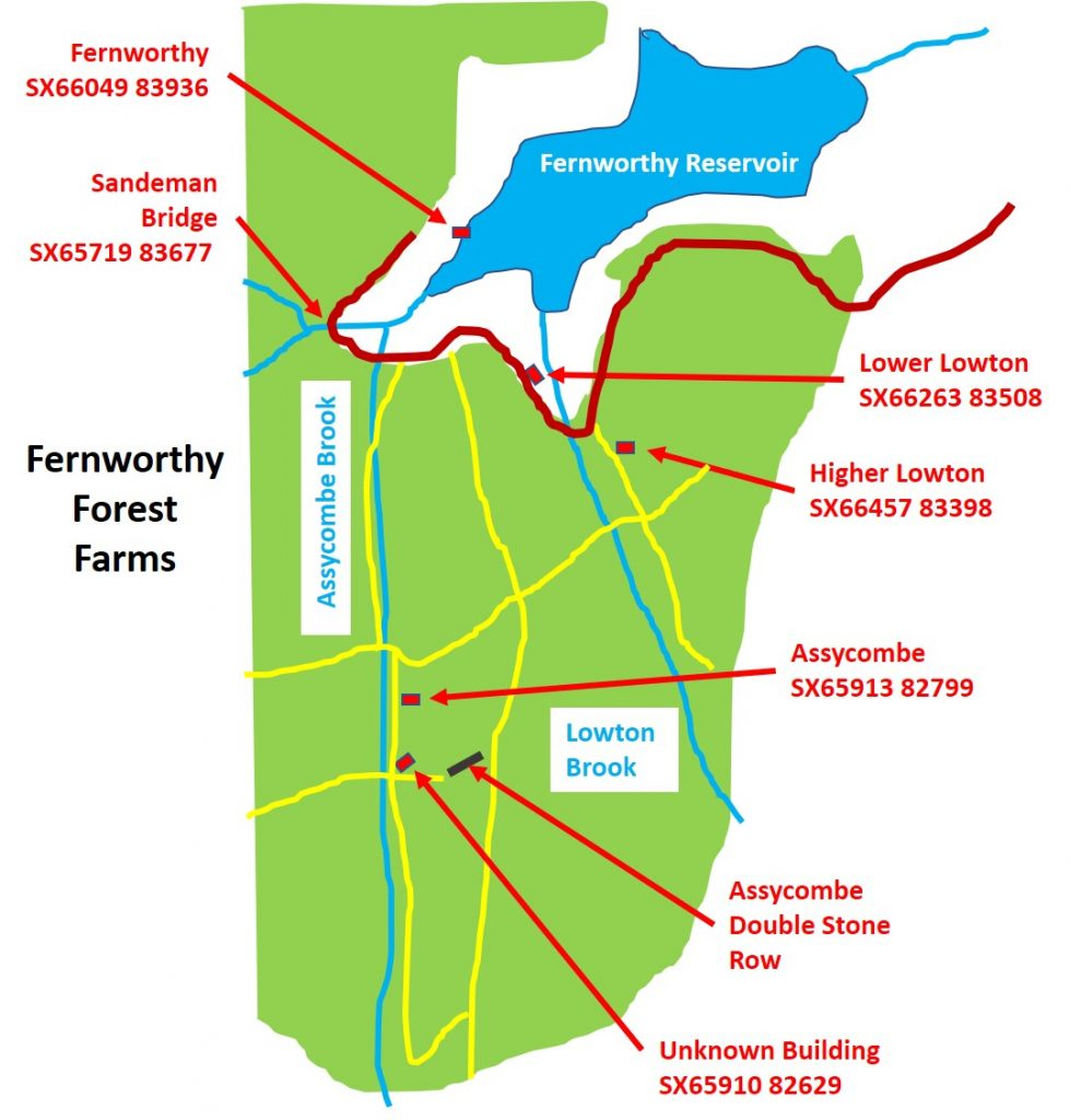 Fernworthy Forest Map