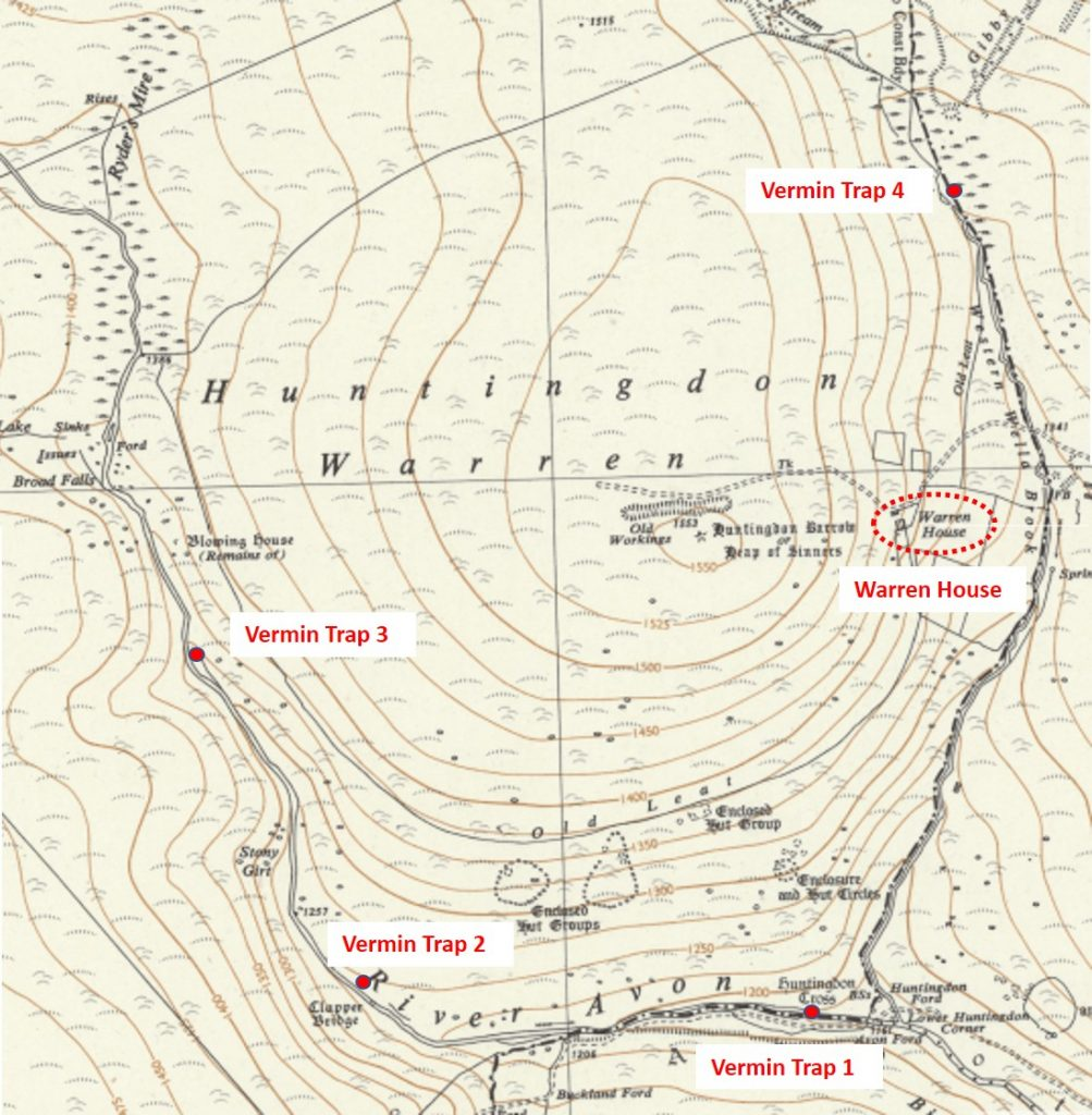 Huntingdon Map