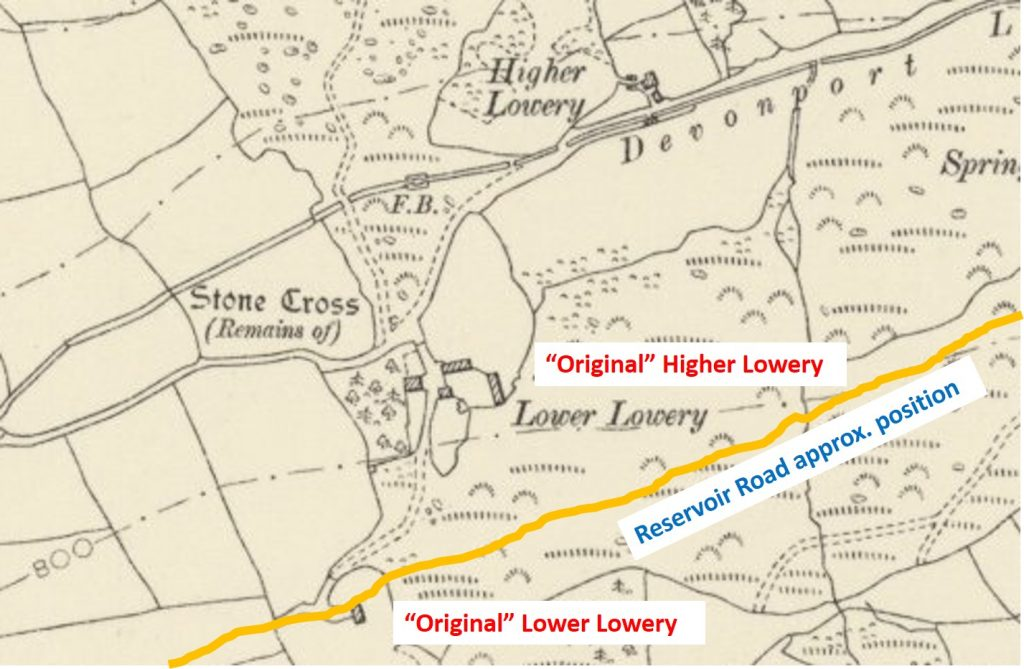Lowery Farms Map