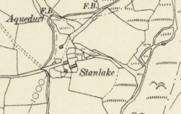 Stanlake map