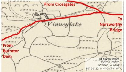 Vinneylake Map