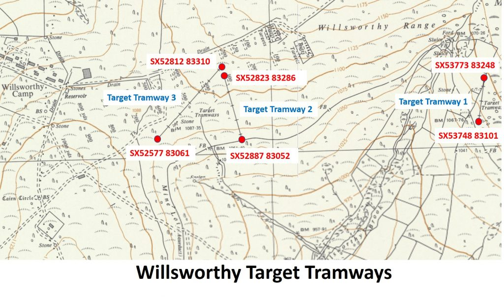 Willsworthy Tramways Map