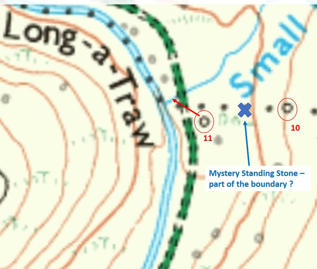 Mystery stone map