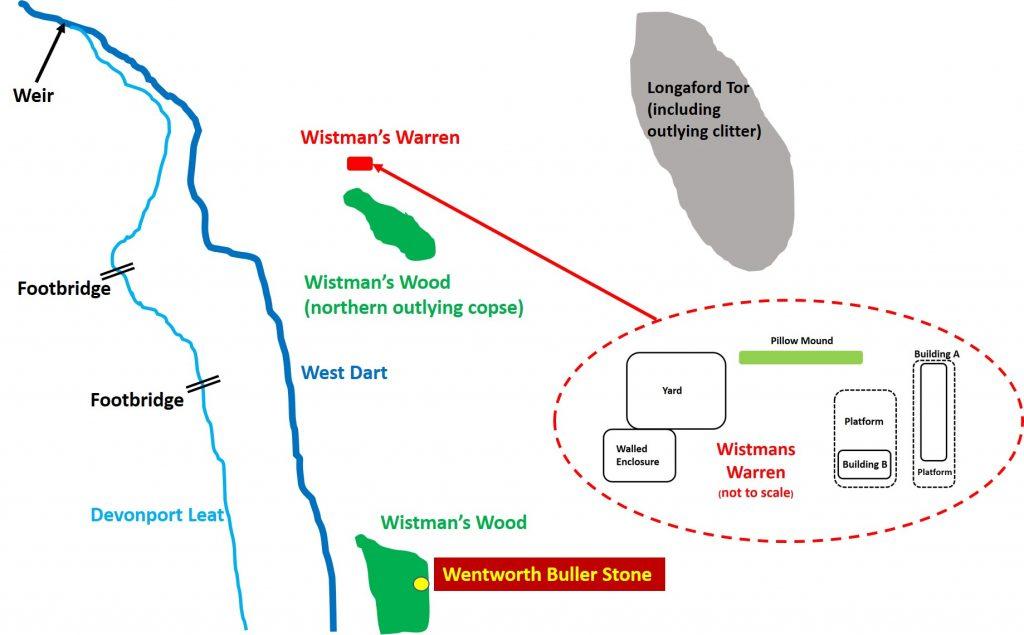 Wistman's Warren Location