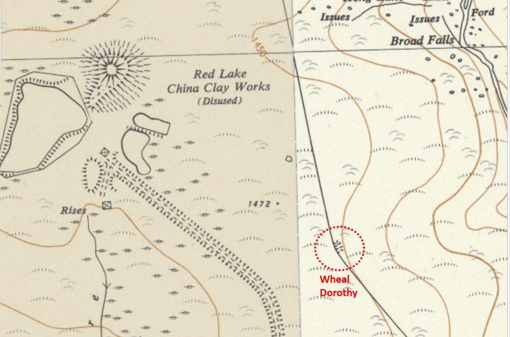 Wheal Dorothy Map