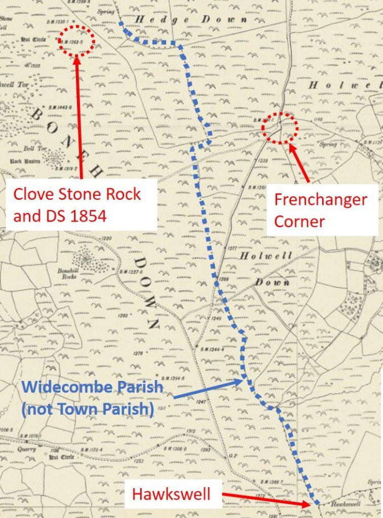 Frenchanger Corner and Halesbury