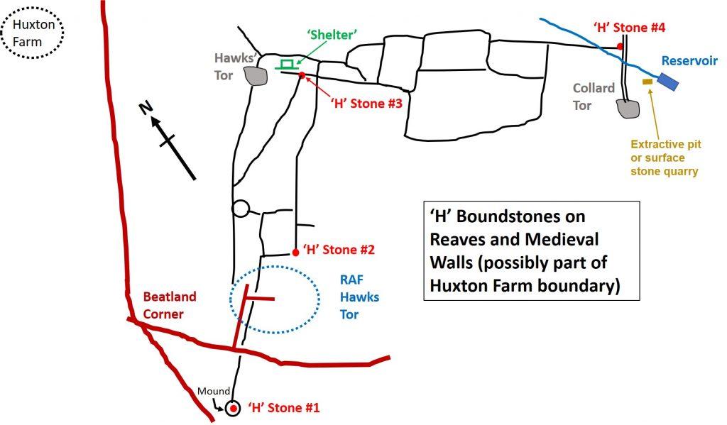 H Stones Map
