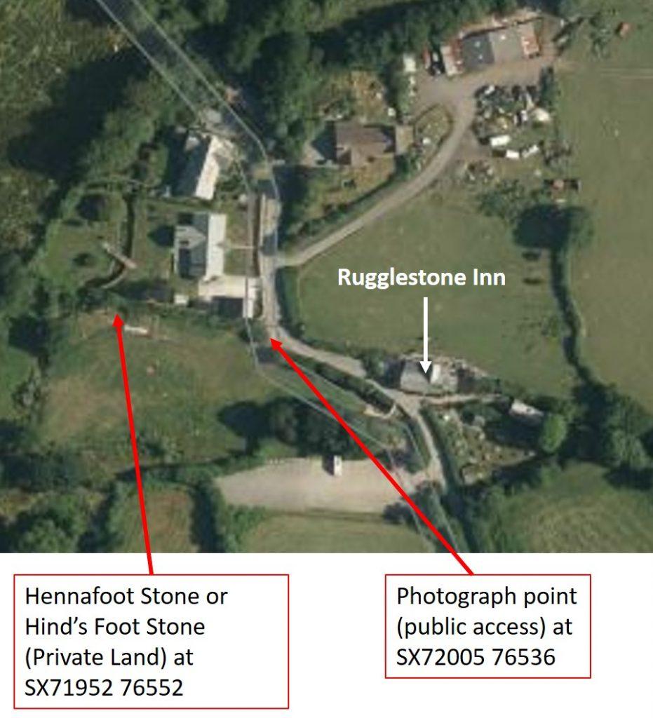 Hennafoot Stone Google Map