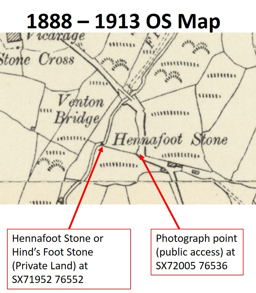 Hennafoot Stone location map