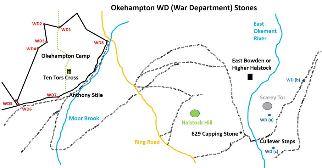 Okehampton WD Map