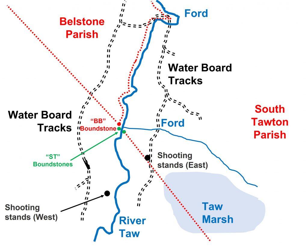 Taw Plain 1 - Map