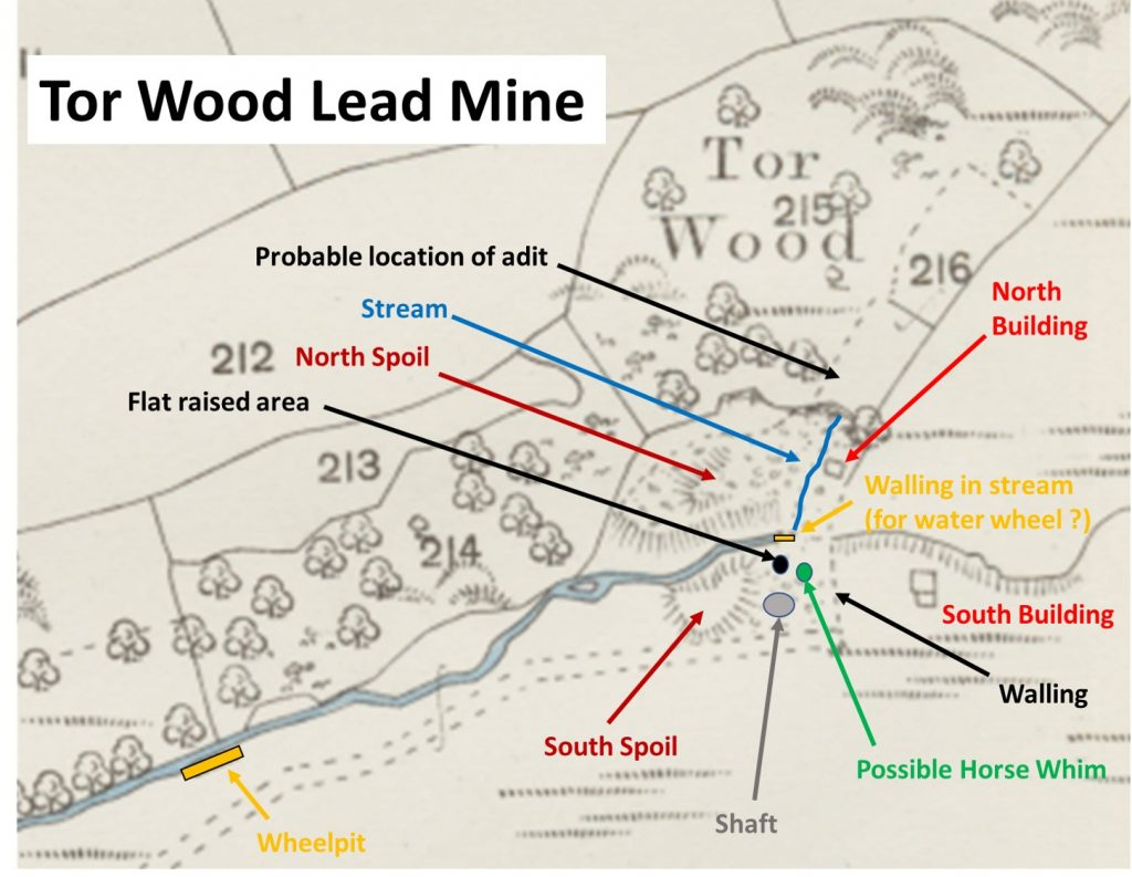 Tor Wood Mine Map